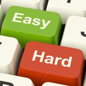 Easy hard by Stuart Miles freedigitalphotos.net
