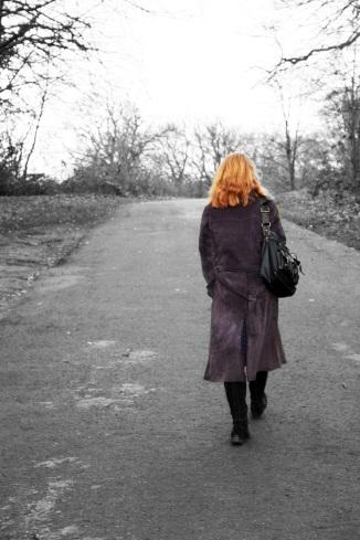 woman walking morguefile